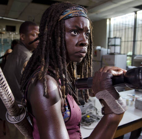 Michonne Purple Shirt