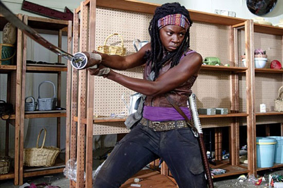 Michonne being the baddest of all TWD characters.