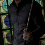 Ben Harmon's Black Dress Shirt