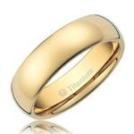 Cavalier Polished Wedding Ring