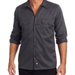 Dickies Work Shirt Charcoal