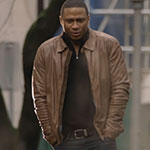 John Diggle's Light Brown Leather Jacket