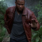 John Diggle's Red/Brown Leather Jacket