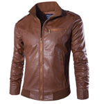 Neleus Leather Jacket
