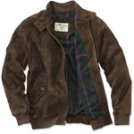 Orvis Suede Bomber Jacket