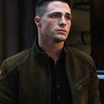 Roy Harper Brown Leather Jacket