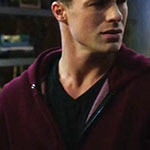 Roy Harper Dark V-Neck Shirt