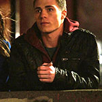 Roy Harper Black Leather Jacket