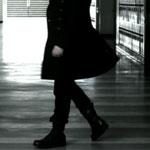Tate Langdon's Black Boots
