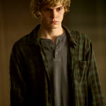 Tate Langdon's Green Plaid Shirt