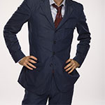 Tenth Doctor's Blue Suit