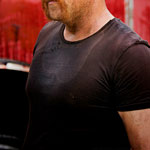 Abraham Ford Black T-Shirt