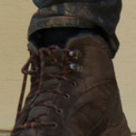 Carl Grimes Brown Boots