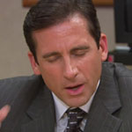 Michael Scott Pinstripe Sport Coat