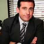 Michael Scott Black Suit Jacket