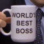 Michael Scott's World's Best Boss Mug