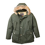Woolrich Forest Green Parka