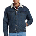 Wrangler Sherpa Lined Jean Jacket