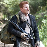 Abraham Ford's Black Shoulder Messenger Bag