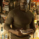 Luke Cage Olive Thermal Shirt