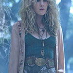 Misty Day's Green Blouse