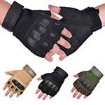 Vbiger Military Fingerless Gloves