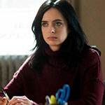 Jessica Jones Burgundy Sweater