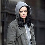 Jessica Jones Gray Zip Up Hoodie