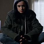 Jessica Jones Army Green Jacket
