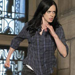 Jessica Jones Plaid Button Up Shirt