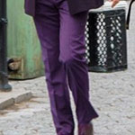 Kilgrave's Purple Suit Pants