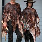 Rick Grimes Bloody Knit Poncho