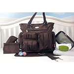 Soho Brown Diaper Bag
