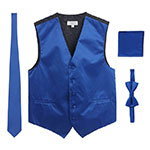 Gioberty Royal Blue Vest