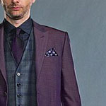 Kilgrave Purple Pocket Square