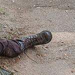 Paul Jesus Rovia Combat Boots