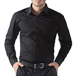 Paul Jones Black Dress Shirt
