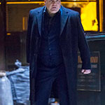 Wilson Fisk Black Trench Coat