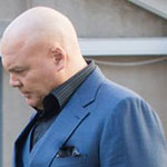 Wilson Fisk Blue Suit Jacket