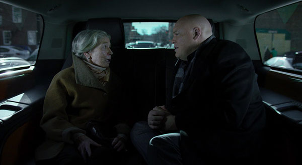 Netflix Daredevil Wilson Fisk in Car