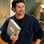 Derek Shepherd Black Long Sleeve Undershirt