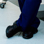 Derek Shepherd Black Oxford Work Shoes