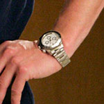 Derek Shepherd Gold Analog Wrist Watch