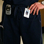 Derek Shepherd Navy Scrubs Pants