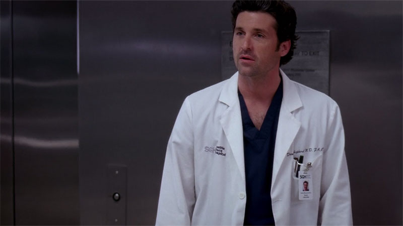 Grey's Anatomy Dr. Derek Shepherd