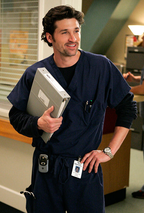 Grey's Anatomy Dr. Derek Shepherd Scrubs