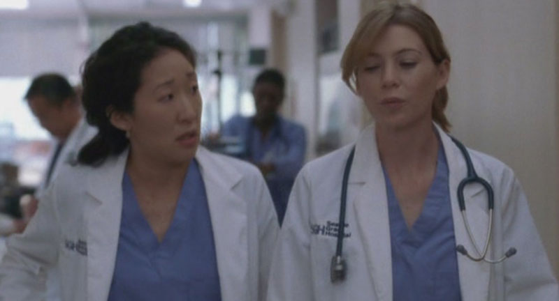 Grey's Anatomy Meredith Grey Lab Coat and Scrubs