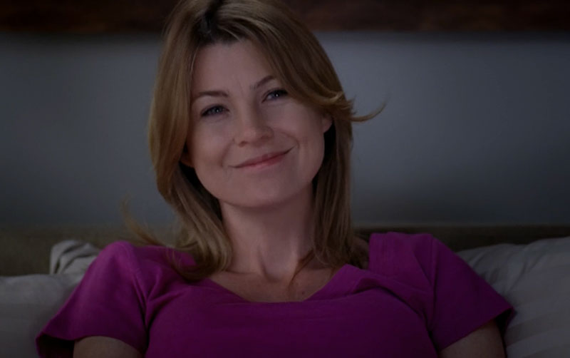 Grey's Anatomy Meredith Grey Purple Shirt