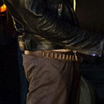 Negan Brown Cartridge Belt