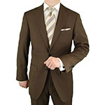 Gino Valentino Suit Jacket Brown